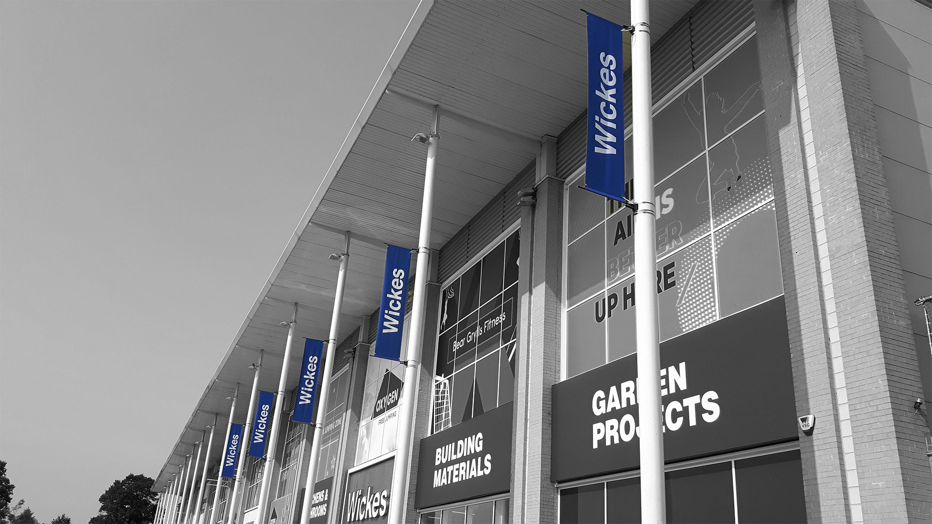 Wickes Flag Banners