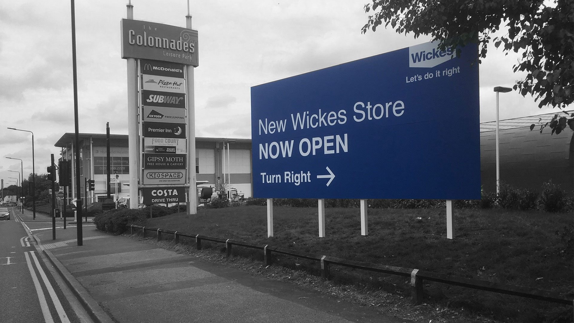 Wickes Signage