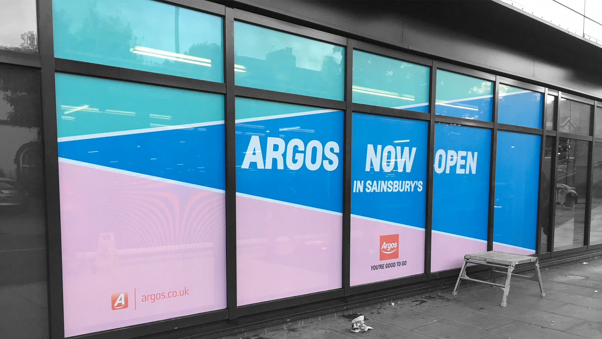Argos Window Vinyl